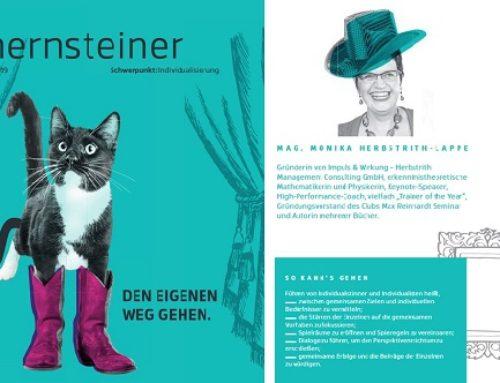 Hernsteiner mit Leitartikel von Monika Herbstrith-Lappe mit 2 Fox Awards ausgezeichnet