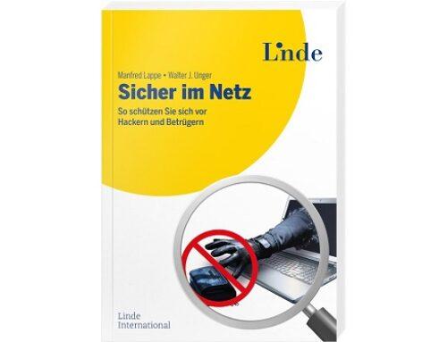 """29. Buch von Multi-Autor Manfred Lappe: """"Sicher im Netz"""""""